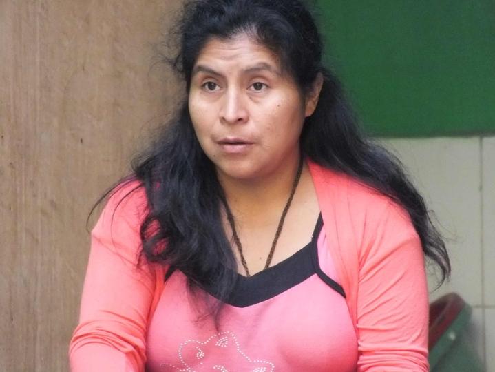 Janete (42), früher selbst Manthoc-Kind, heute Lehrerin