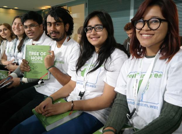 Aktiv für den Umweltschutz: Die Jugendlichen von We for Change
