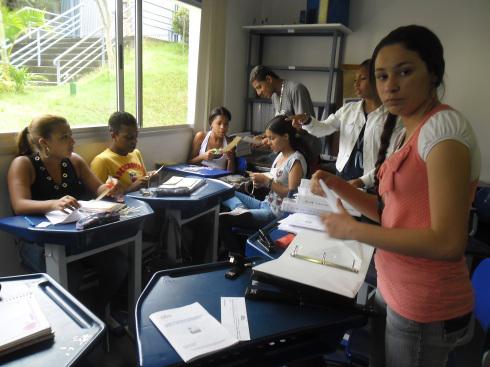 Ausbildung für Jugendliche: Das Zentrum der Organisation Girasol