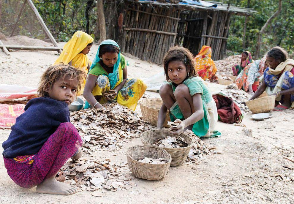 Schuften für die Kosmetikindustrie: Kinder in einer indischen Mine