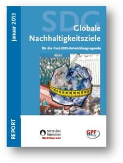 Report »Globale Nachhaltigkeitsziele« von terre des hommes
