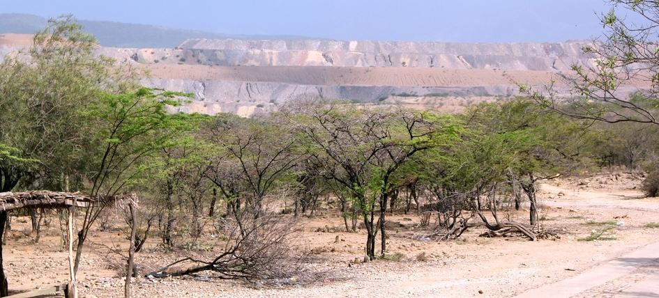 Soweit das Auge reicht: Kohlebergbau bedroht die Gemeinde El Hatillo in Kolumbien