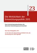 Die Wirklichkeit der Entwicklungspolitik 2015