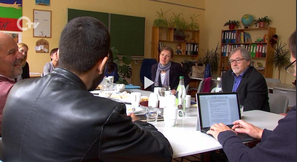 Bericht von Oberpfalz-TV über den Besuch von Margot Käßmann