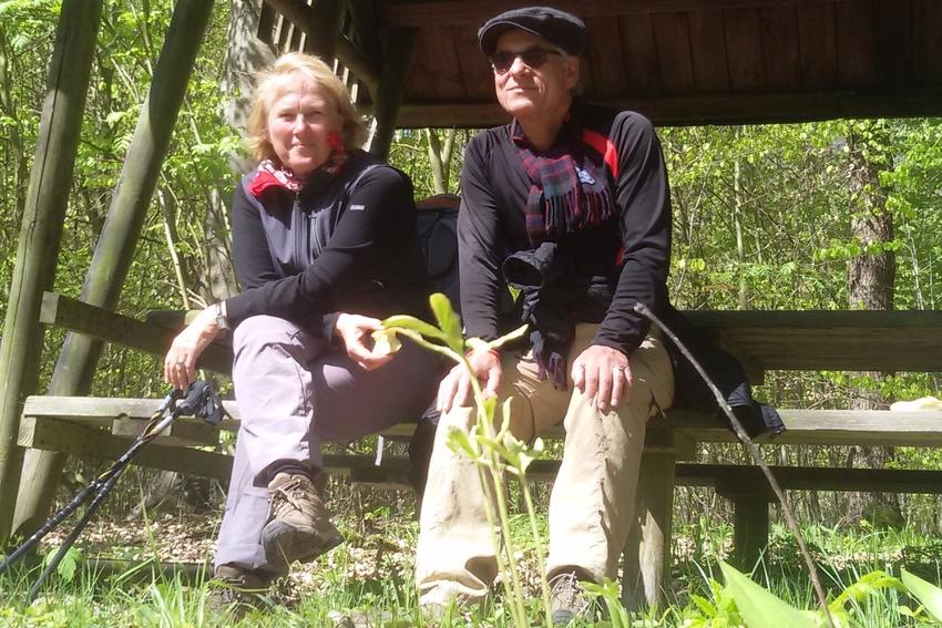 Die Gewinner der Rom-Reise: Silvia und Jörg aus dem niedersächsischen Pattensen